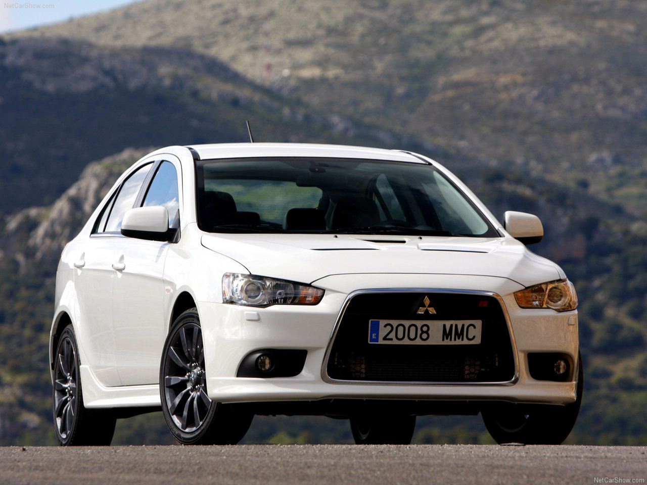 Mitsubishi Lancer Sportback Ralliart Front Side photo Cars and Pictures Wallpapers Download