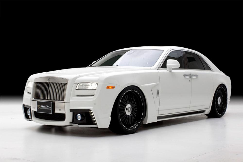 Rolls Royce Ghost Black Bison Wallpaper HD For Desktop Wallpaper