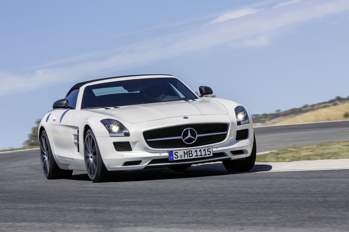 The 2013 Mercedes-Benz SLS AMG GT 01 New Technologies Wallpaper Gallery Free