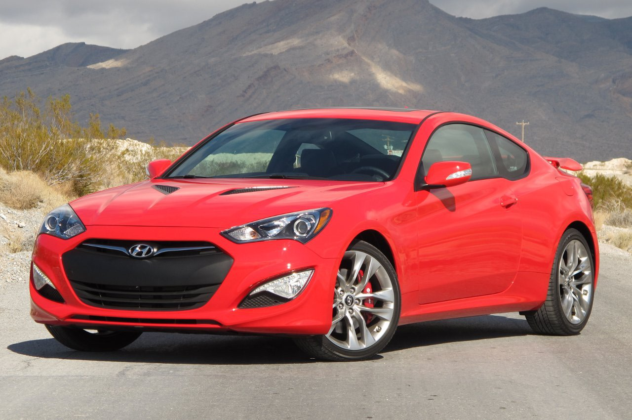 Hyundai Genesis Coupe review Wallpapers HD