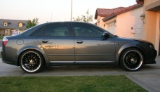 AUDI A4 rims wheels 5x112 ADR M-classic black Desktop Backgrounds