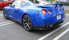 Blue Nissan GT-R High Quality Wallpaper Download