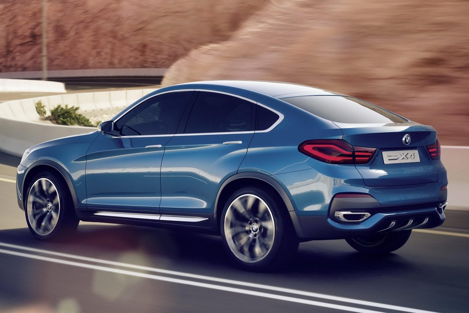 BMW X4 2014 High Resolution Wallpaper Free