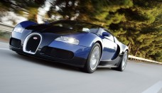 Cars bugatti veyron blue in motion Gallery Free