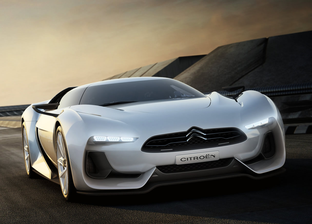 Citroen GT Videos Innovative Super Car Free Picture Download Image Of