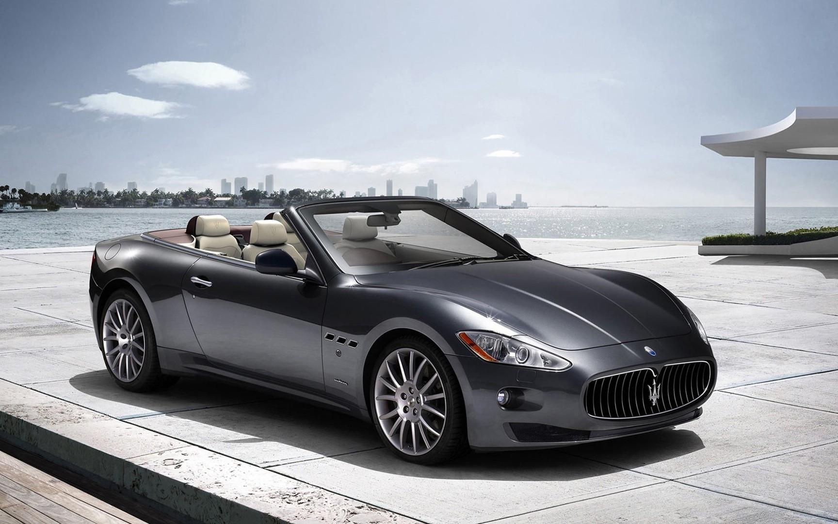 Convertible Maserati GranTurismo wallpaper Pictures Photos Images Desktop Download
