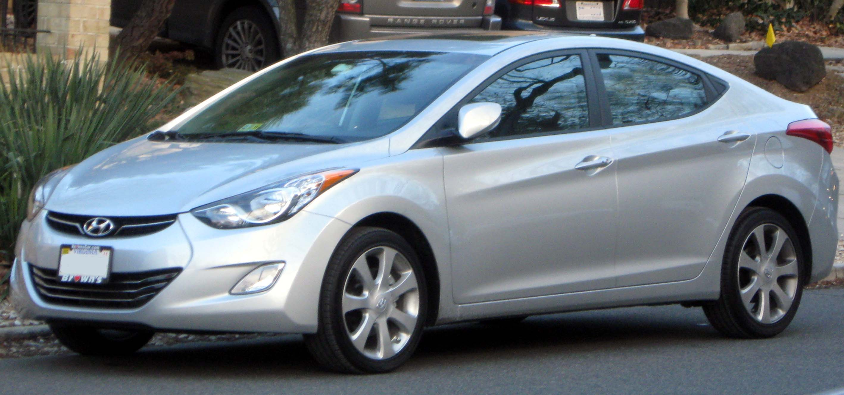 Hyundai Elantra Car Wallpapers Desktop Download