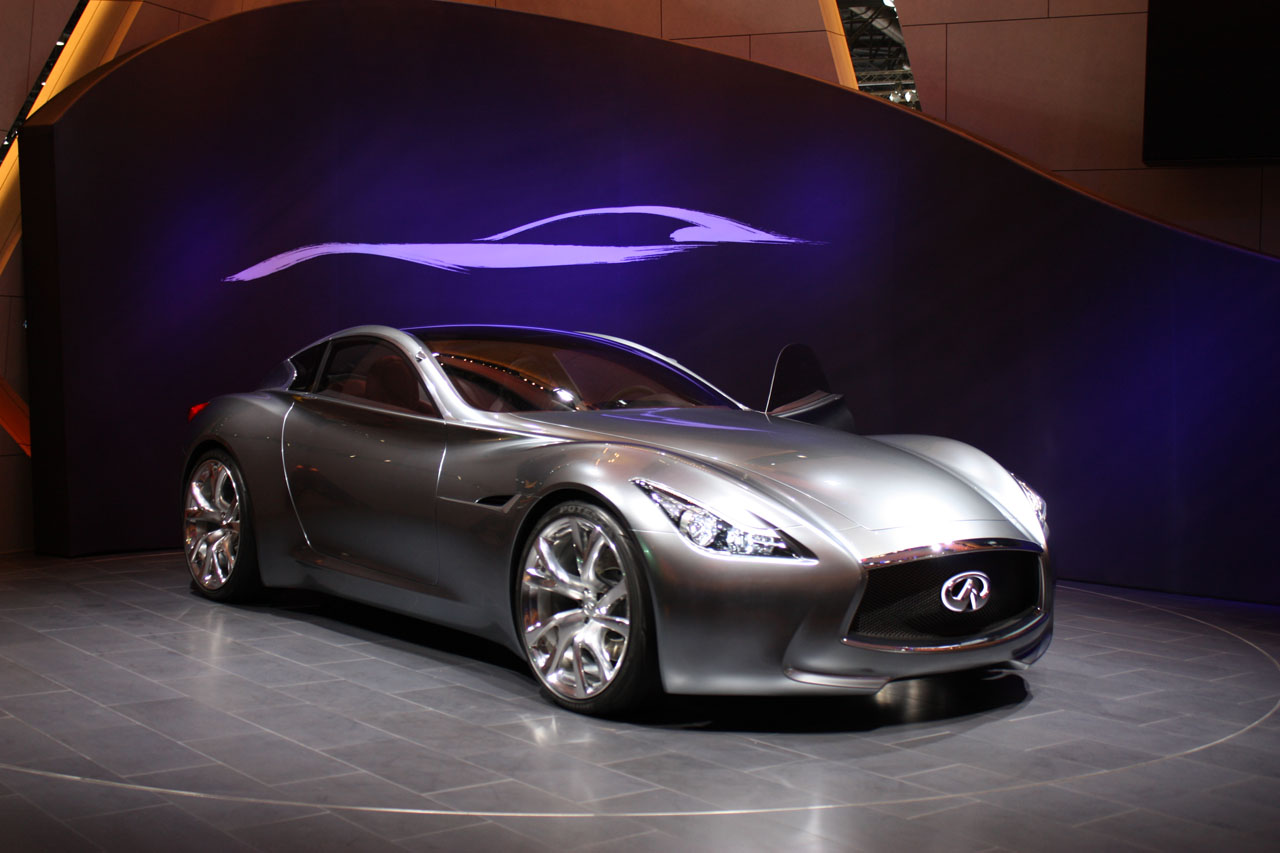 Infiniti Essence Concept unveiled at Geneva Wallpapers HD