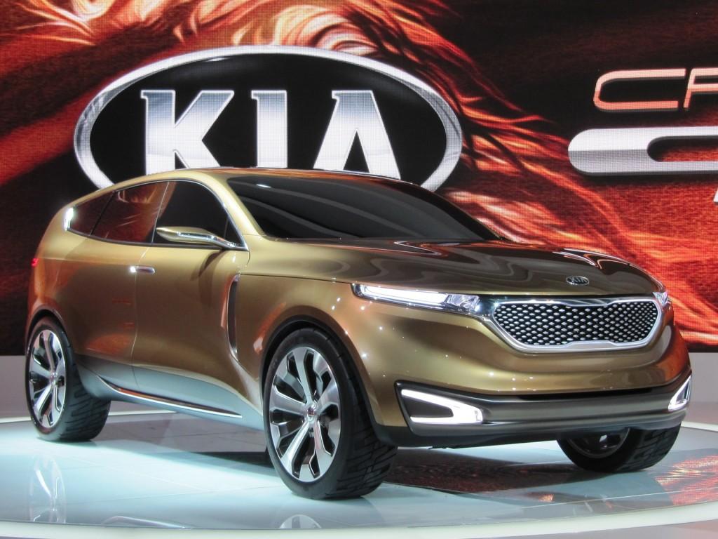 Kia Cross GT Concept Preview & Live Photos Chicago Auto Show Wallpapers Desktop Download
