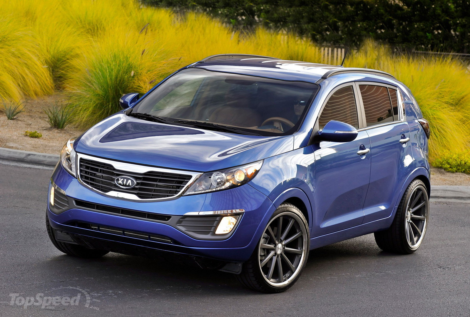 Kia Sportage Blue HD Wallpaper Download