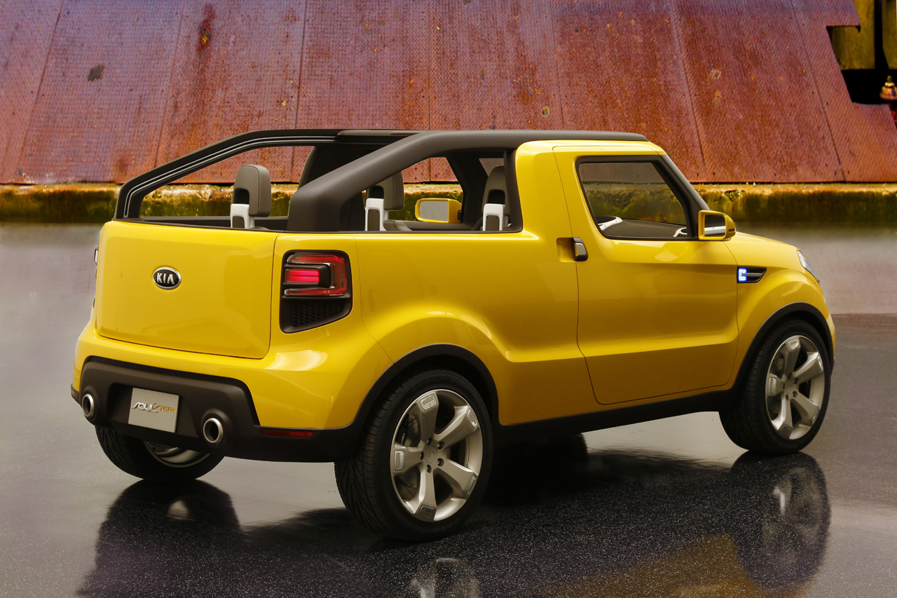 Kia soulster concept Motors America Showcases the Soul ster Concept HD Free Picture Download Image Of