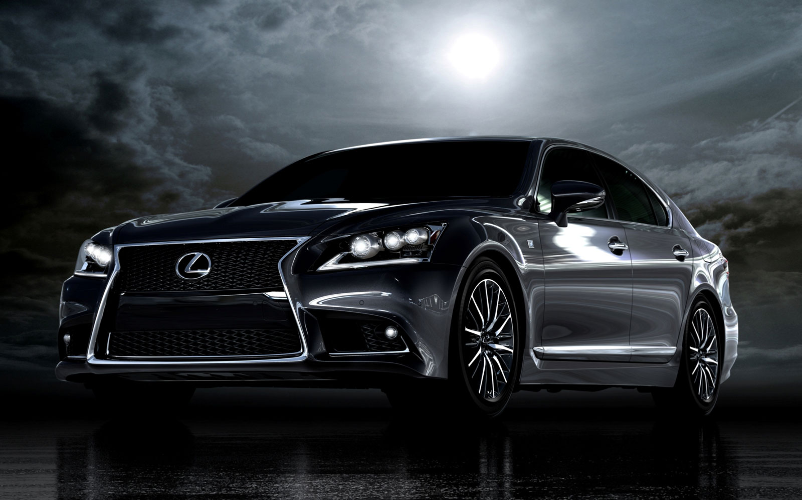 Lexus recently unveiled the new  LS model range Free Picture Download Image Of