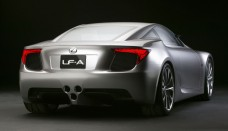 Lexus lfa concept detroit Desktop Backgrounds