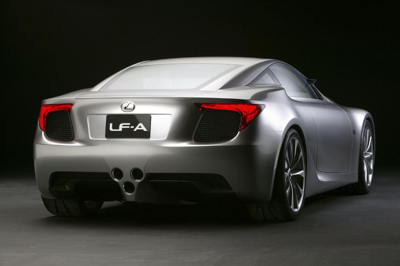 Lexus lfa concept detroit Desktop Backgrounds