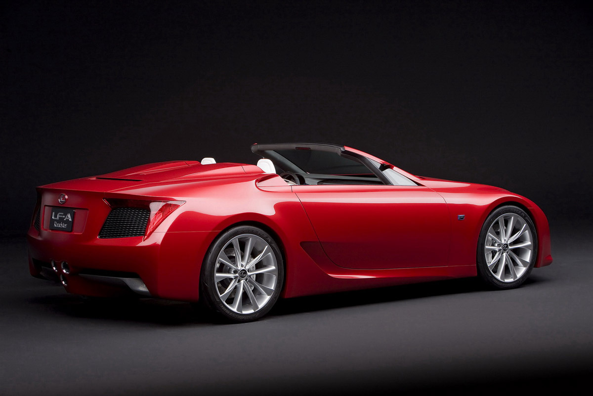 Lexus LF A Roadster Concept Cars Pictures Amazing Desktop Backgrounds