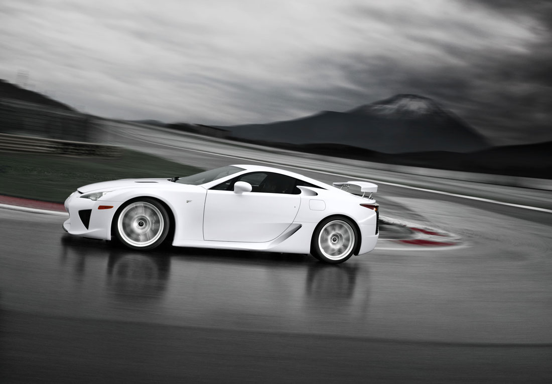 Lexus LFA 3 exhaust pipes how many cylinders image Wallpapers Desktop Download