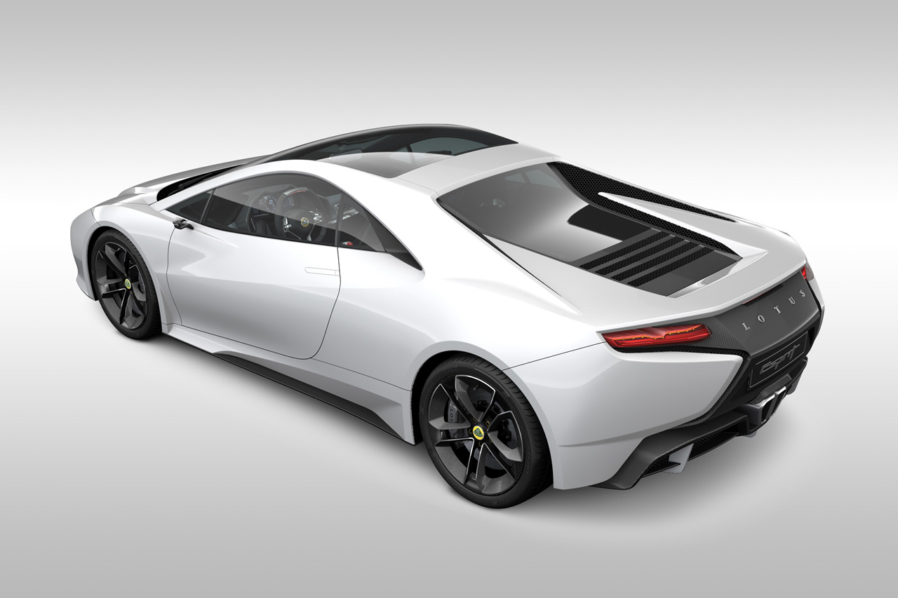 Lotus to Build its Own V8 for the Esprit concept High Resolution Wallpaper Free