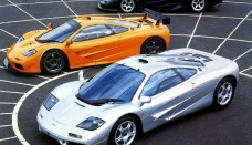 McLaren F1 3 different variations Wallpapers Download