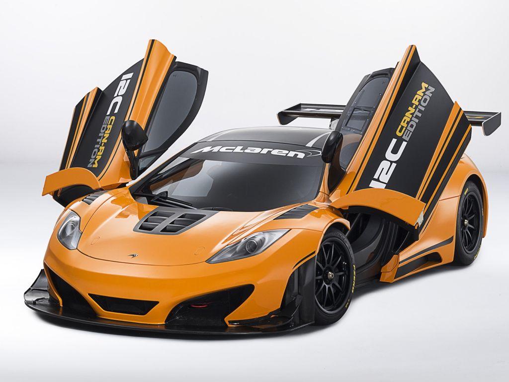 McLaren 12C Can-Am Edition Race Concept Motor Show High Resolution Wallpaper Free