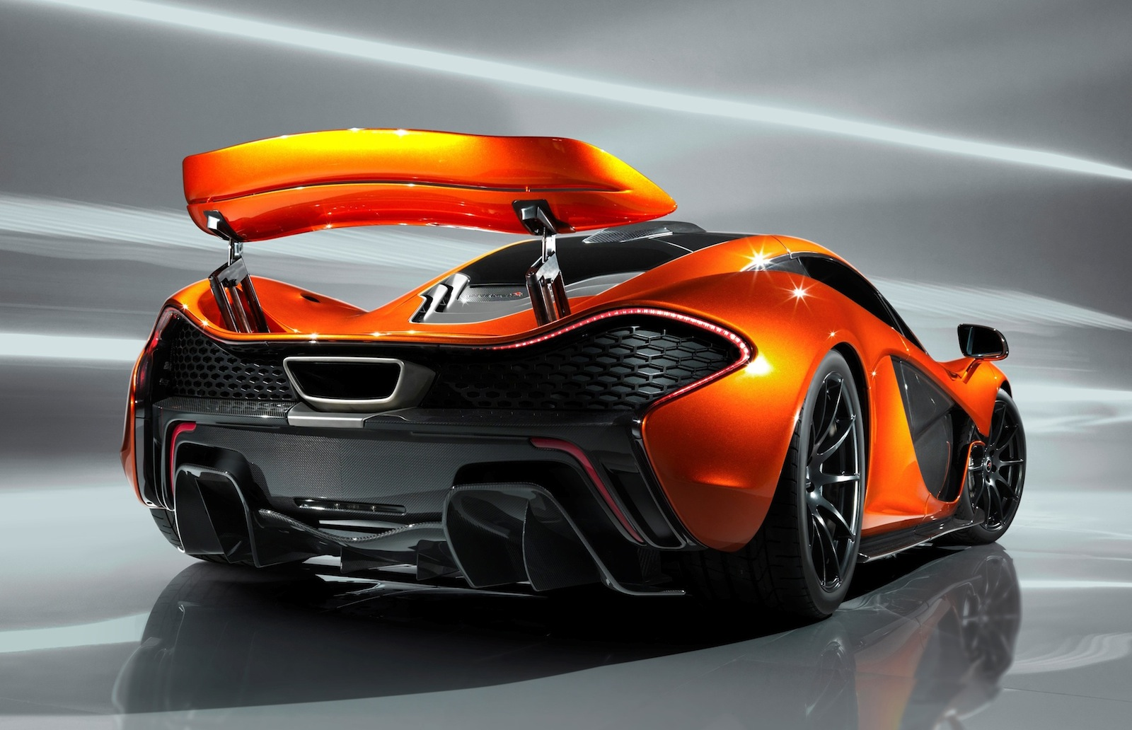 New Official Images McLaren P1 Design Study Photo Gallery Desktop Backgrounds