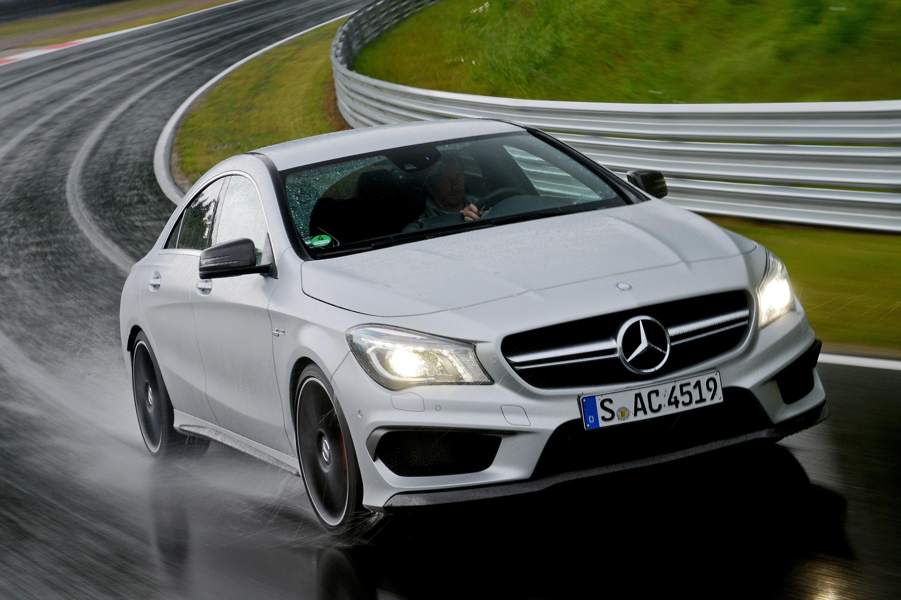 Mercedes-Benz CLA45 High Resolution Desktop Backgrounds