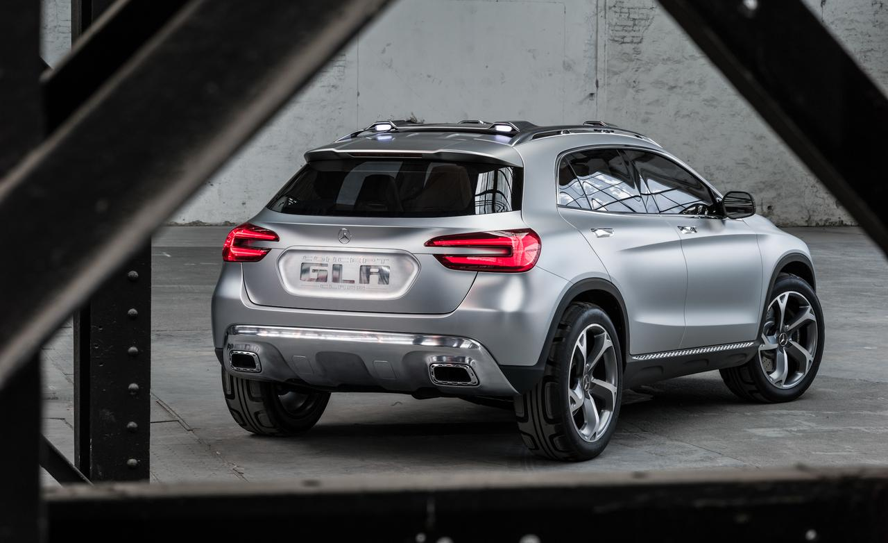 Mercedes-Benz Concept GLA wallpaper Free Download Image Of