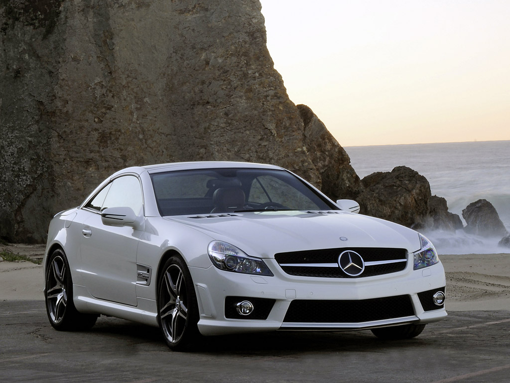 Mercedes Benz SL 65 AMG front view New Technologies Wallpaper Gallery Free