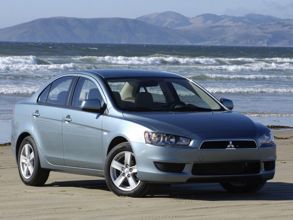 New Mitsubishi Lancer Sports Sedan Detroit Auto Show Cars Pictures Desktop Backgrounds