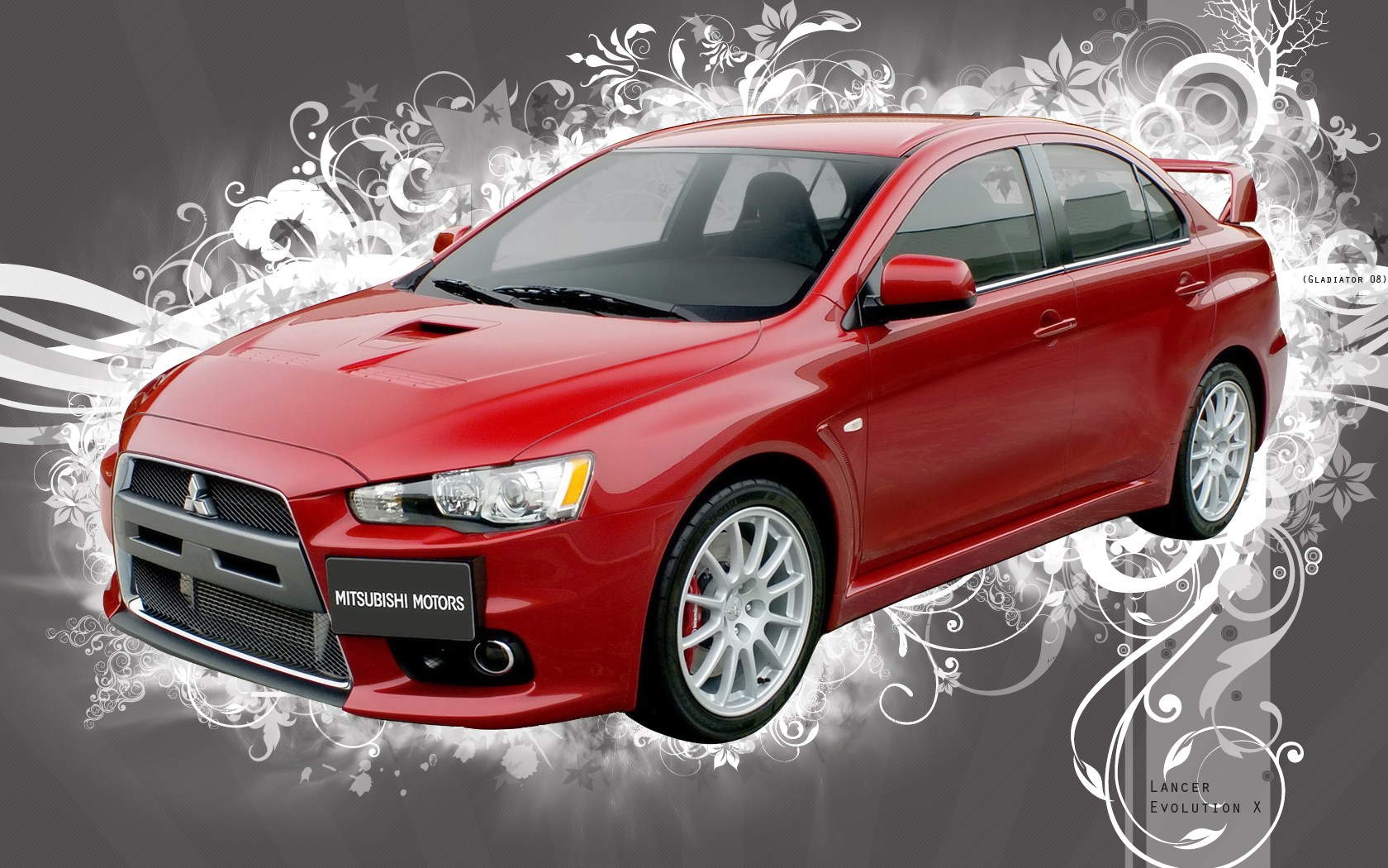 Mitsubishi Lancer Evolution X An awesome image of High Resolution Picture