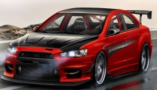 Mitsubishi Lancer evolution IX MR 870+Ps Wallpapers HD