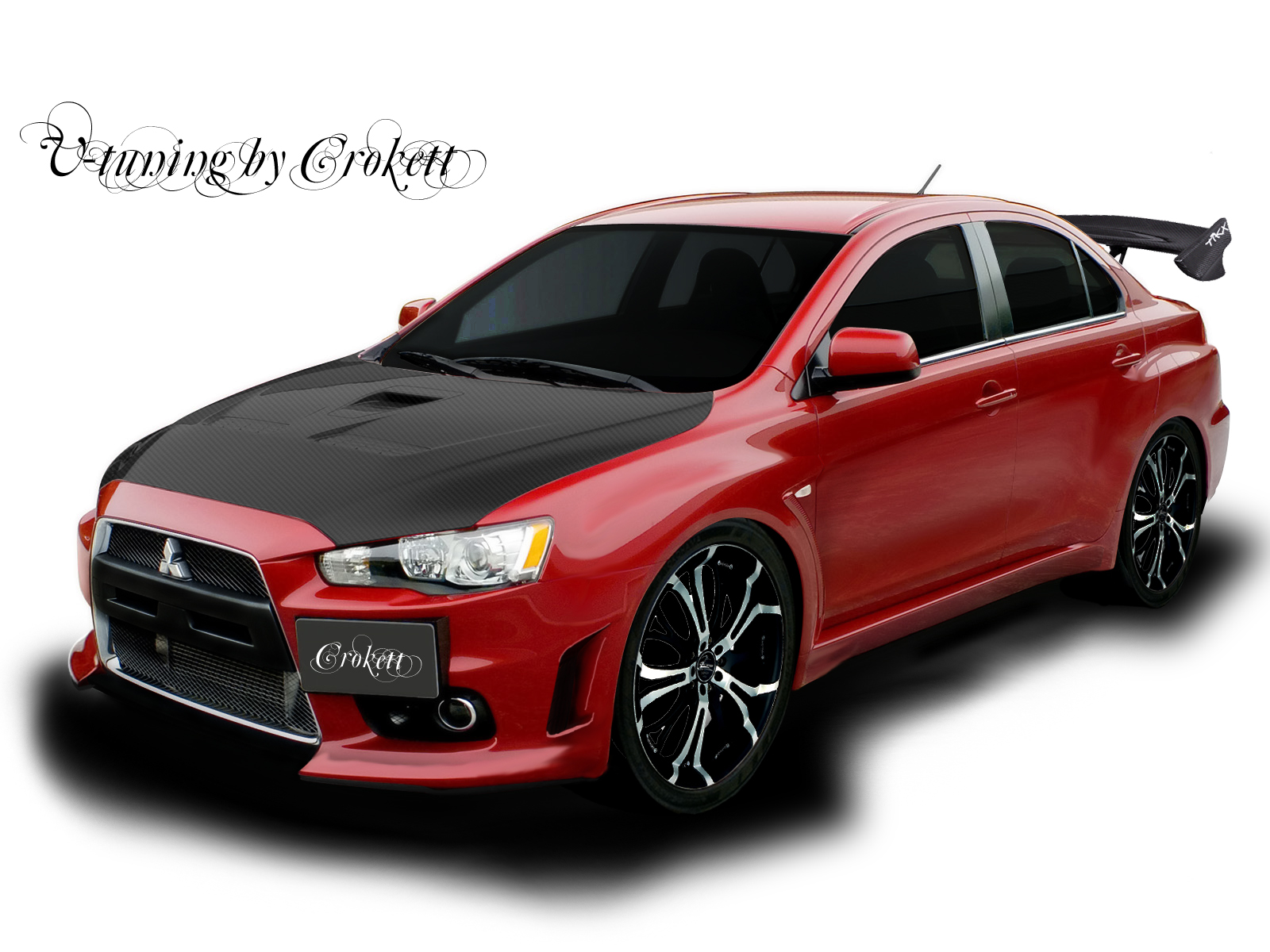 Mitsubishi Lancer Evolution X  SE Free Download Image Of