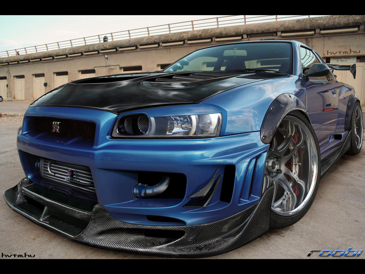 Nissan Skyline GTR Wallpaper HD Download