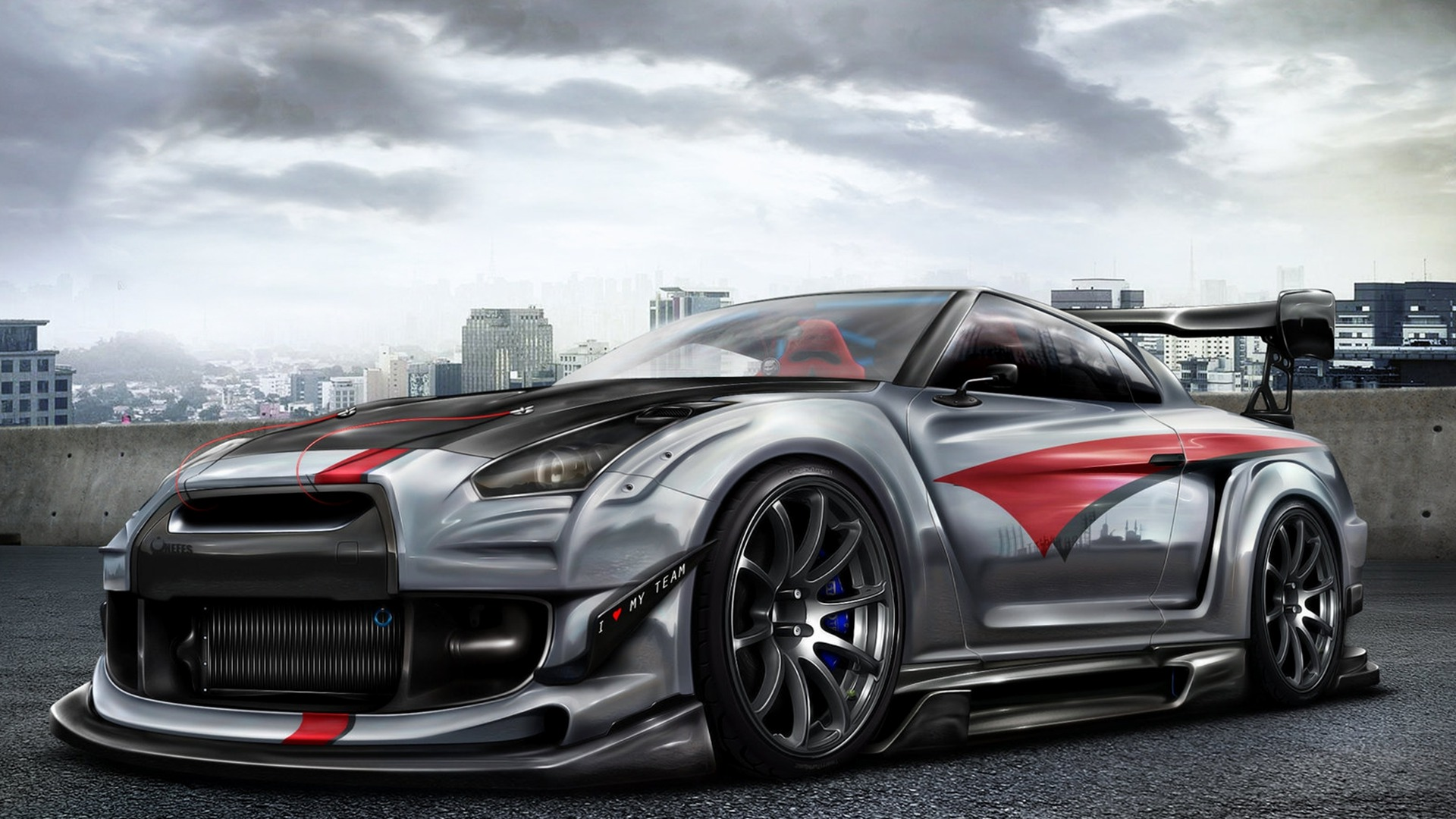 Nissan Skyline GTR R35 Desktop Computers Free Wallpaper
