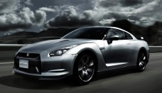 Nissan GT-R 2009 Background For Ipad