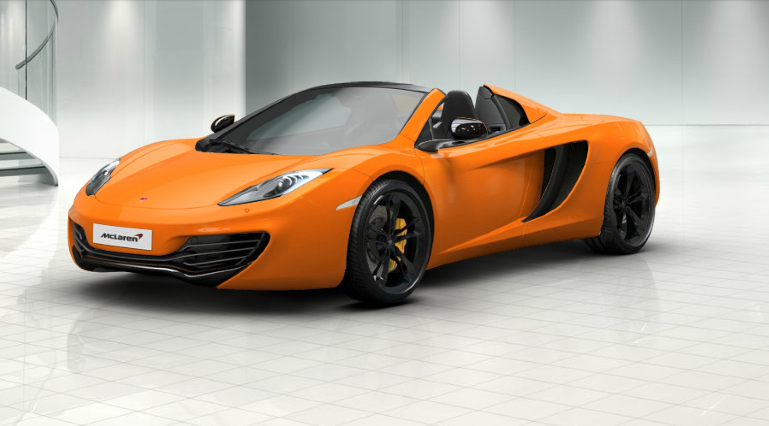 automotive officially unveiled the mclaren mp4 12c spider super Sports Car designed Free Download Image Of