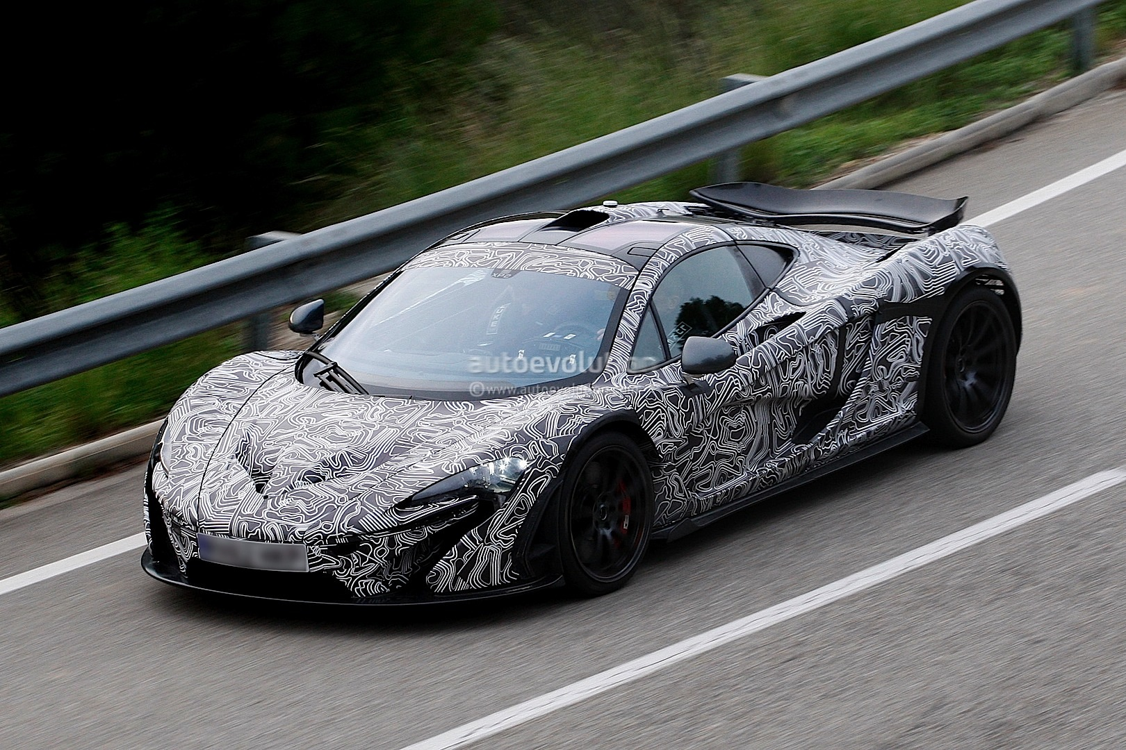 McLaren P1 Hypercar Spyshots spotted testing again Wallpapers HD Wallpaper