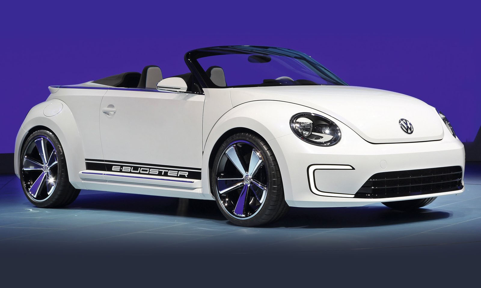 Volkswagen E-Bugster Speedster Concept Previews Beetle Cabriolet Wallpapers HD