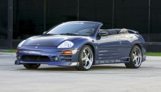 Mitsubishi Eclipse GTS Spyder R1 Racing Wheels Car High Resolution Picture