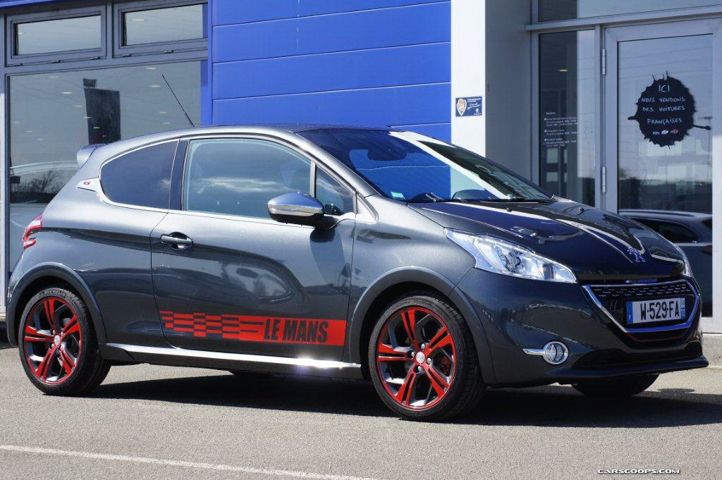 Peugeot 208 GTI Le Mans photo serie speciale Cars Wallpaper Backgrounds