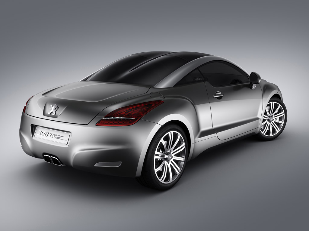 Peugeot RCZ rear Show Wallpapers Download