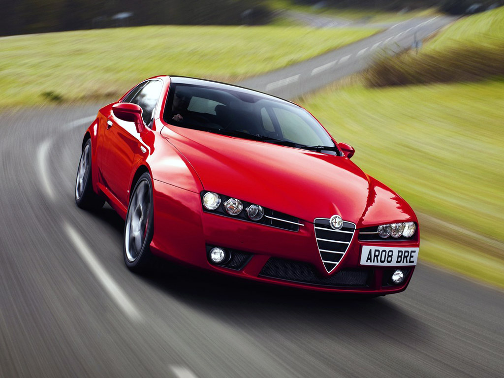 Alfa Romeo Brera S High Resolution Image Desktop Backgrounds