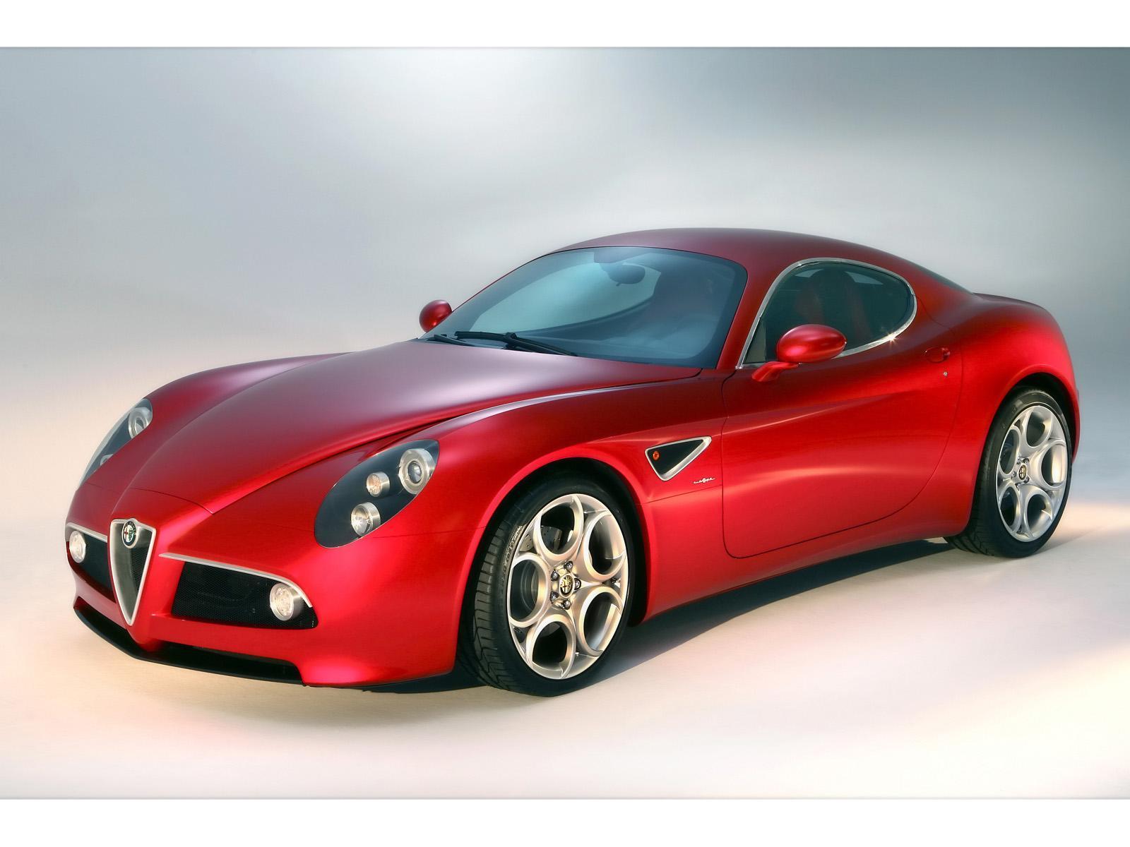 Alfa Romeo 8C Competizione Image Wallpapers Desktop Download Wallpaper