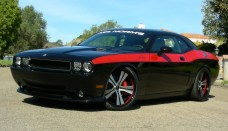 Mr Norms Super Dodge Challenger Black Side Angle Wallpapers Desktop Download