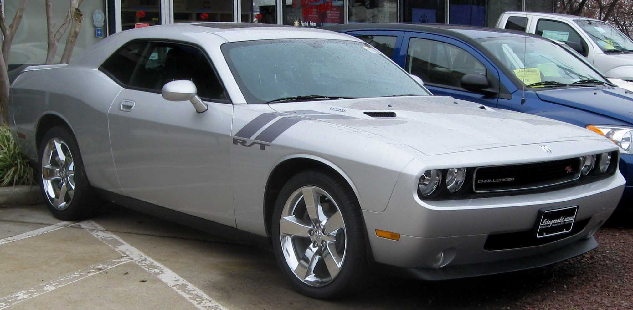 Dodge Challenger RT Desktop Backgrounds