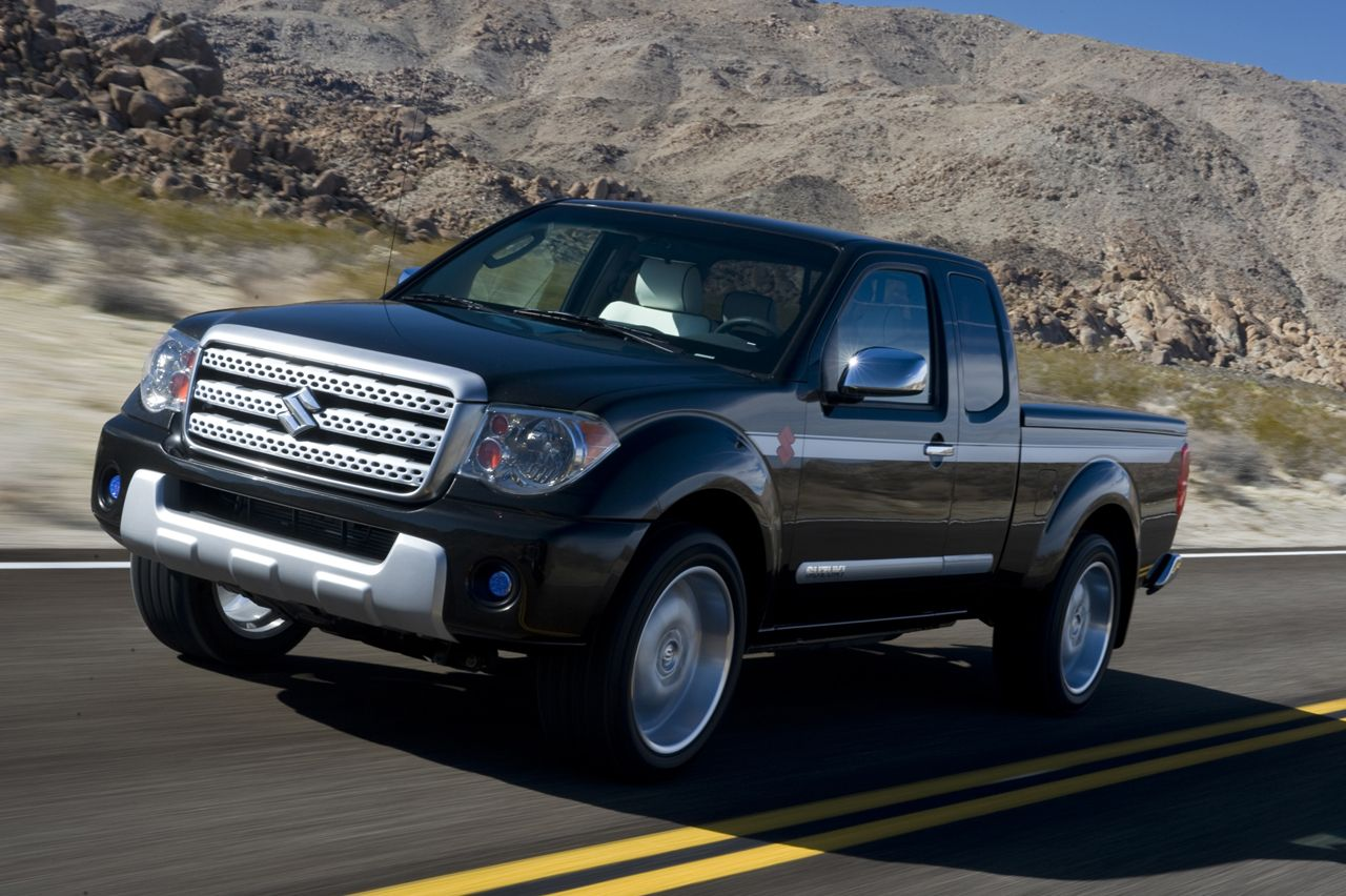 Suzuki officially unveiled Equator pickup at the Chicago Auto Wallpaper Gallery Free