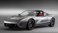TAG Heuer Tesla Roadster High Resolution Wallpaper Free