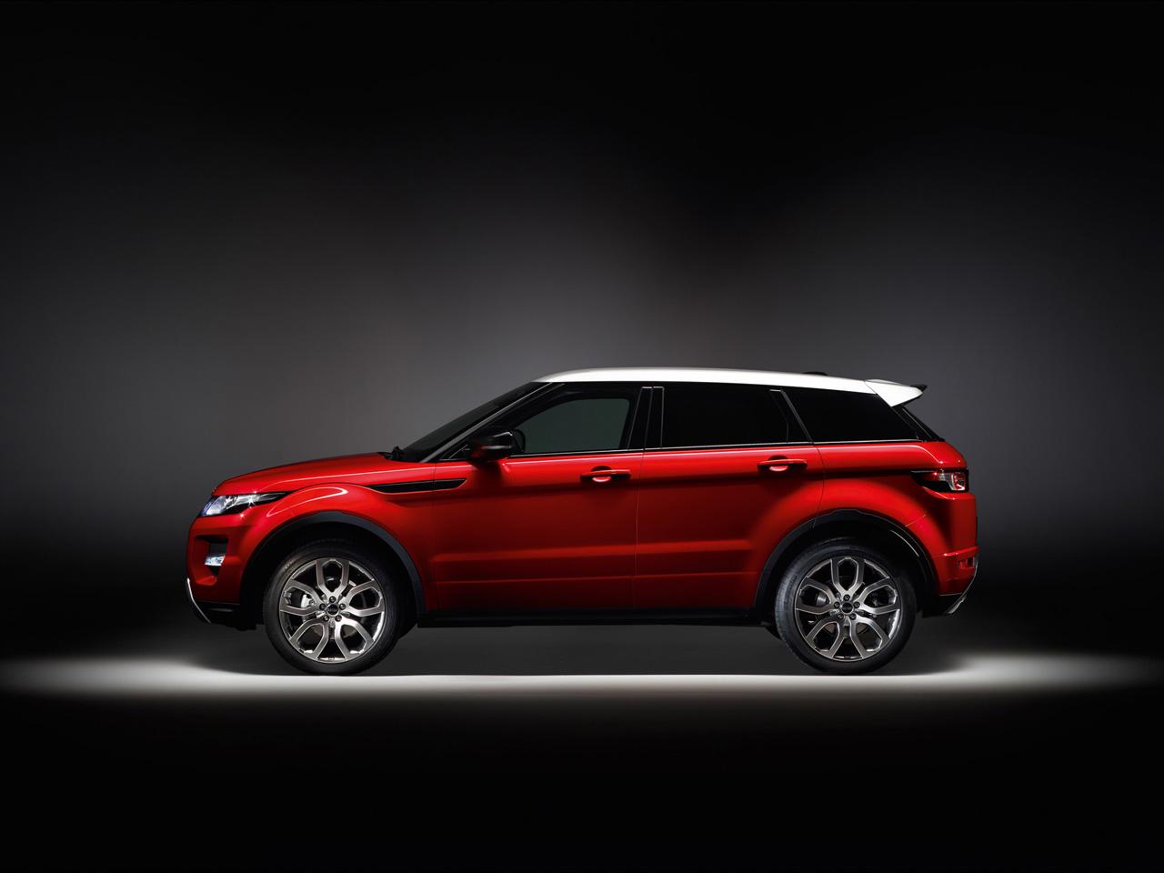 Land Rover Range Rover Evoque 5 Door Side Wallpapers Desktop Download