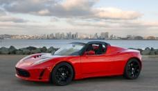 Mini Cooper JCW en Tesla Roadster Signature Car Images Wallpapers HD