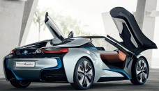 BMW i8 Spyder Rear Angle Door Open image converter free download