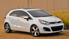 kia rio hatchback front three quarter sedan free download image